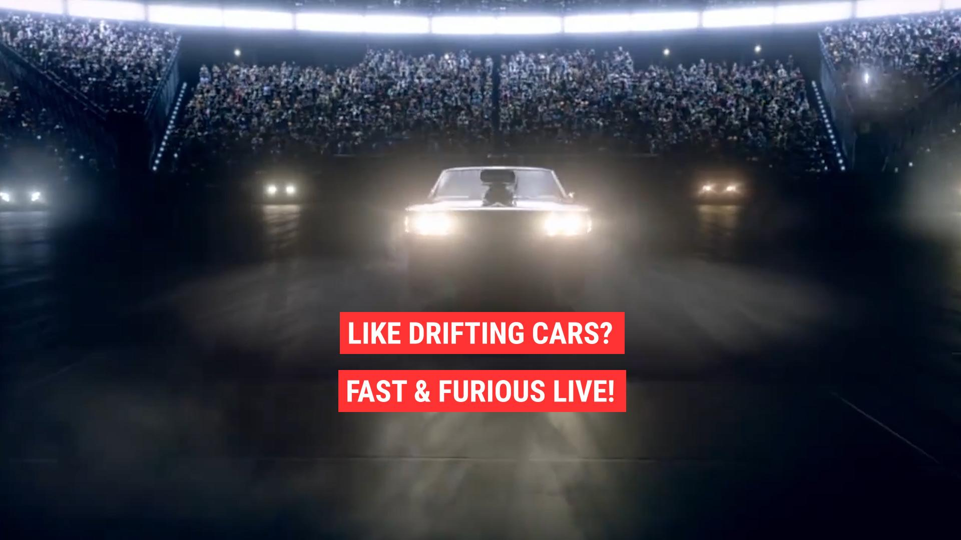 Fast Furious Now Has A Live Show Autoblog