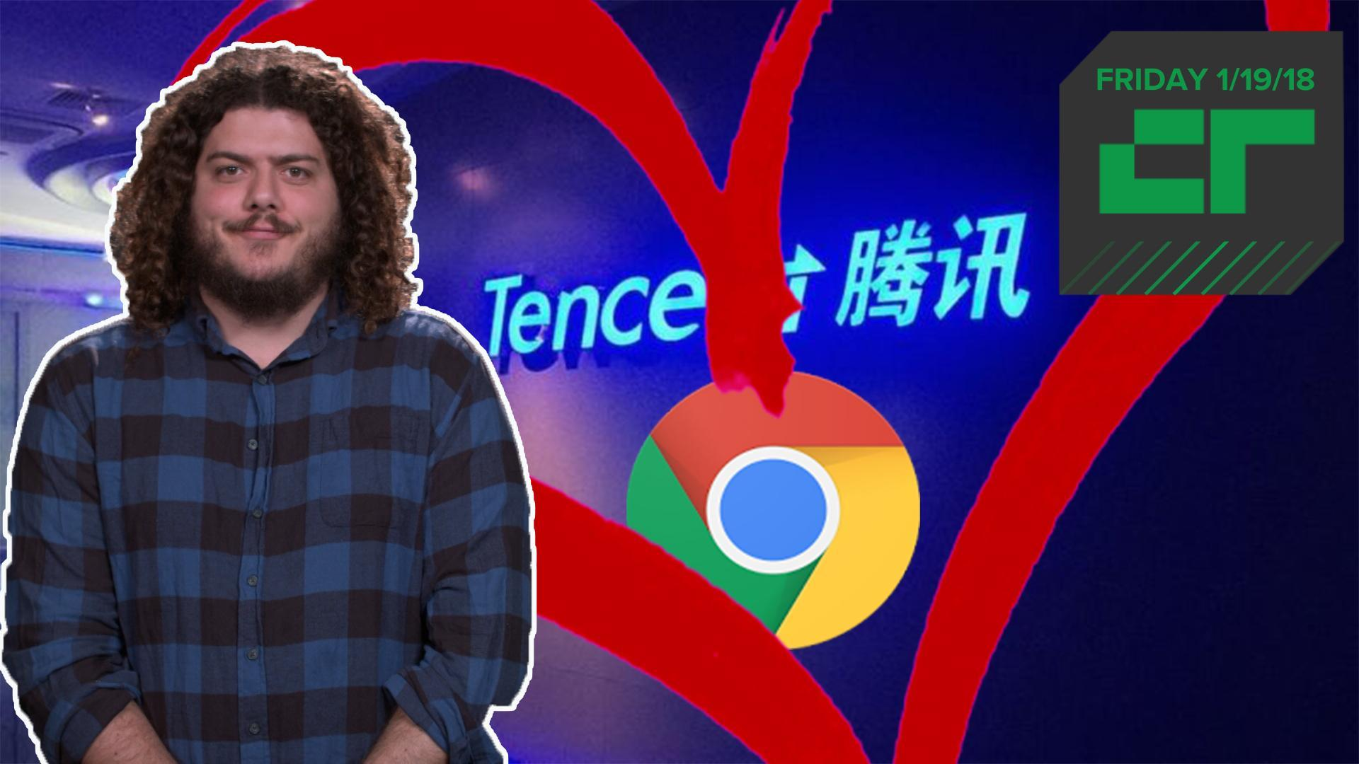 Google and Tencent ink patent agreement | Crunch Report