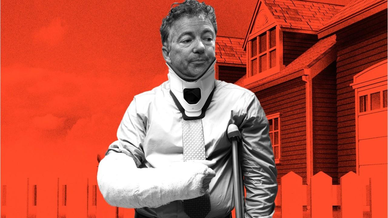 US Senator Rand Paul's neighbor will plead guilty to assault