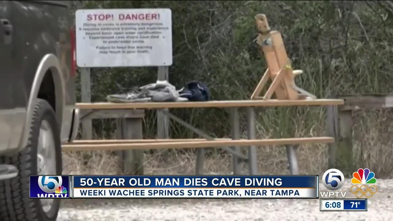 Florida man dies while diving in dangerous underwater caves
