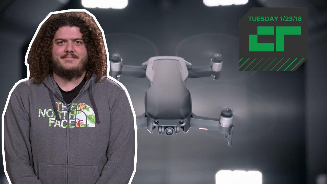 DJI unveils new Mavic Air | Crunch Report
