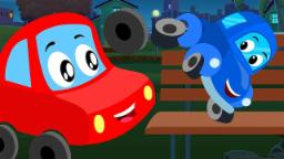 Looby Loo Little Red Car Cartoon Video For Toddlers ...