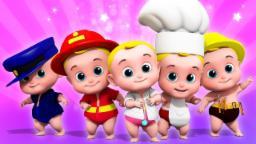 Five Little Babies | Junior Squad Videos  | Kinderga...