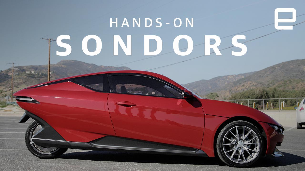 Sondors' Three-wheeled EV Is Affordable And Stylish