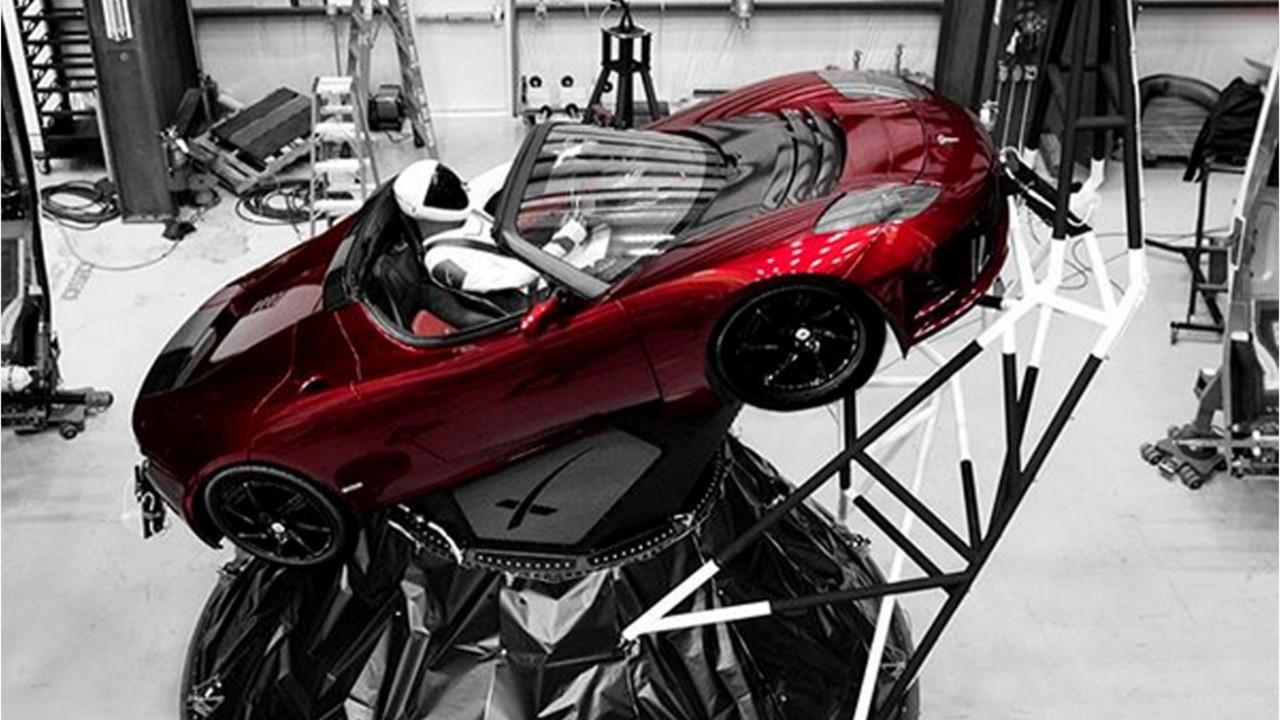 Elon Musk is launching his Tesla Roadster into space to prove a point — but it's also a brilliant marketing move