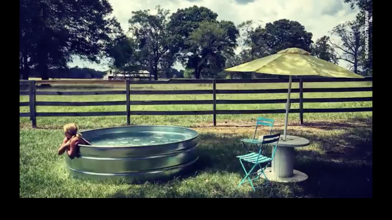 Stock Tank Pools Are Going to Be All the Rage This Summer
