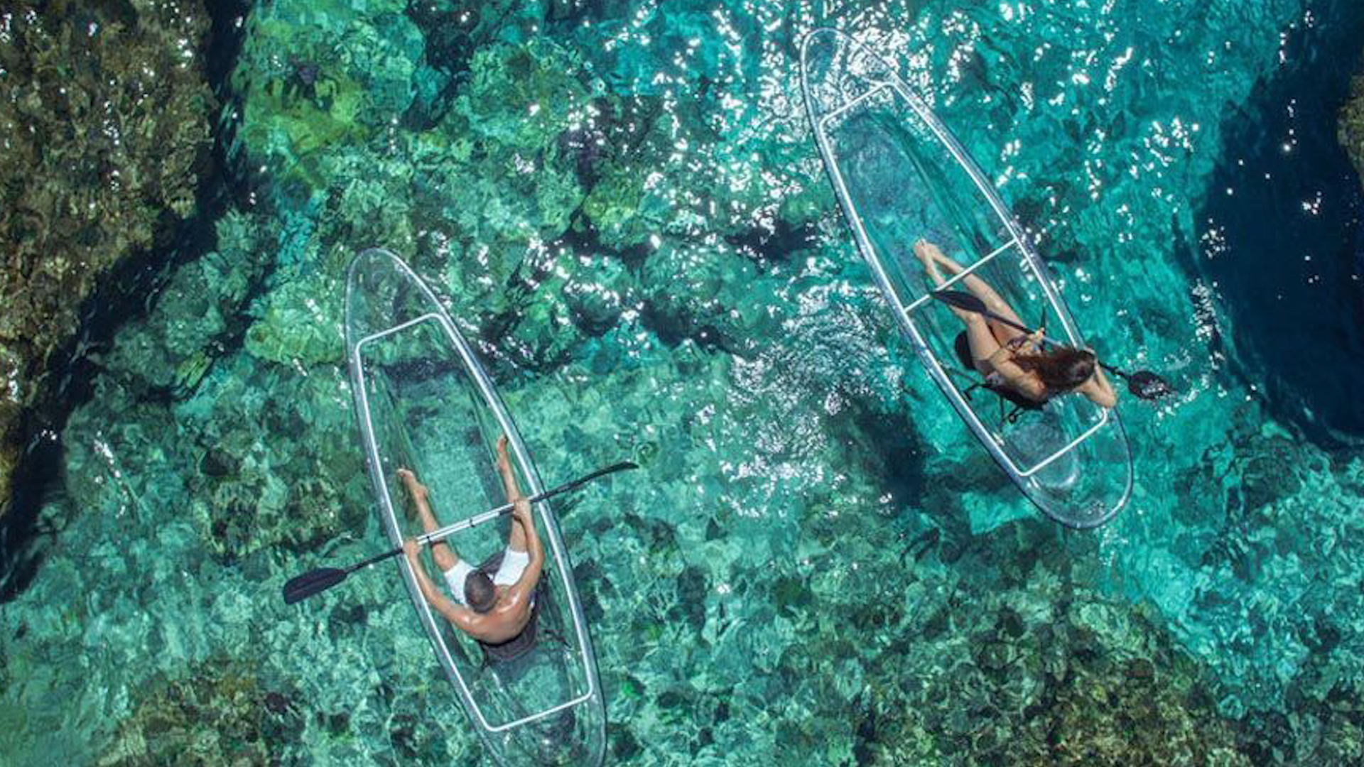 Adventure Lovers Need One of These Transparent Kayaks