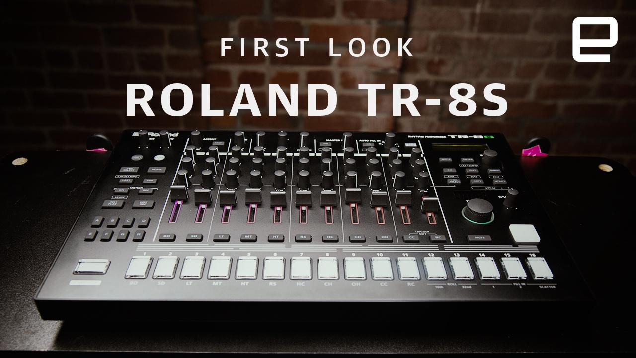 roland 39 s tr 8s mashes all your favorite 80s drum machines together. Black Bedroom Furniture Sets. Home Design Ideas