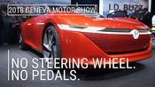 Volkswagen I.D. Vizzion   2018 Geneva Motor Show