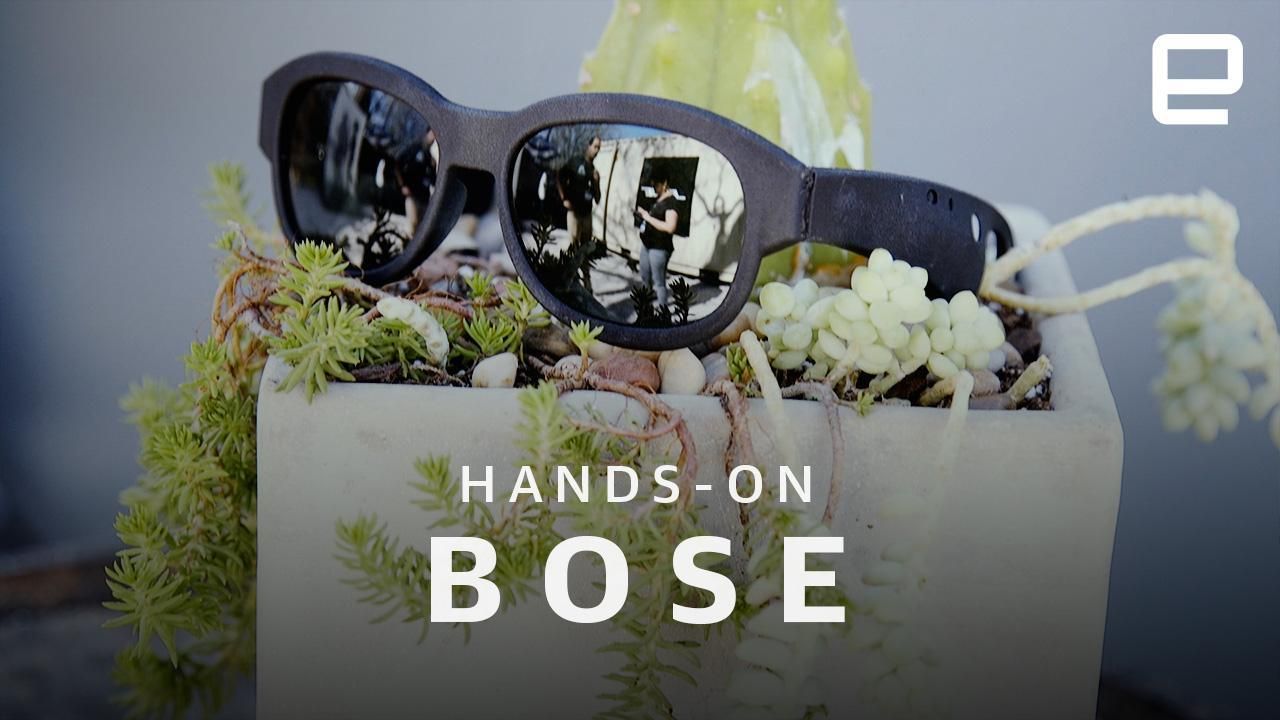 6531e6fe62 Bose sunglasses hands-on  audio AR makes more sense than you think