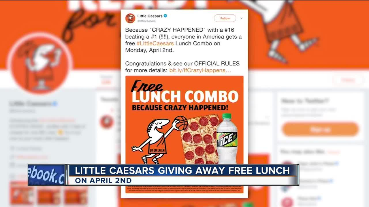 Aker asa invitation to presentation of fourth quarter 2017 little caesars promised free pizza if a 16 seed beat a 1 seed buycottarizona