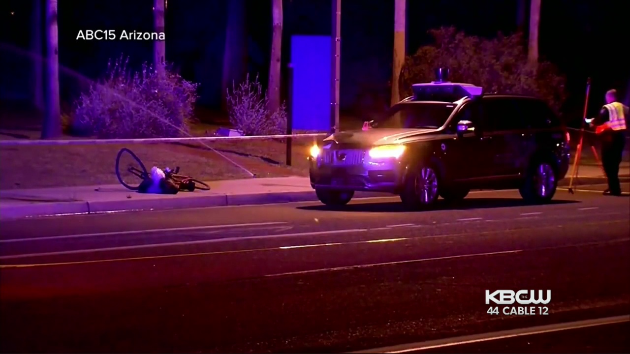 Tempe Police Release Video Of Fatal Crash Involving Self-Driving Uber Car