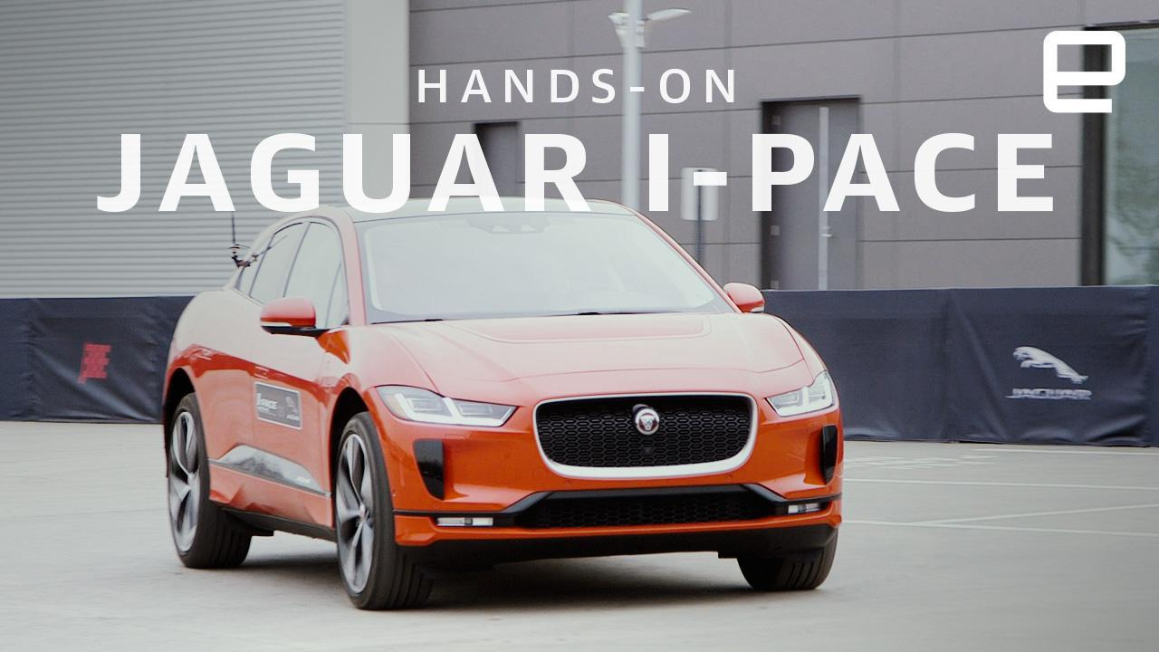 Jaguar S All Electric I Pace Is Quick Agile And Stylish