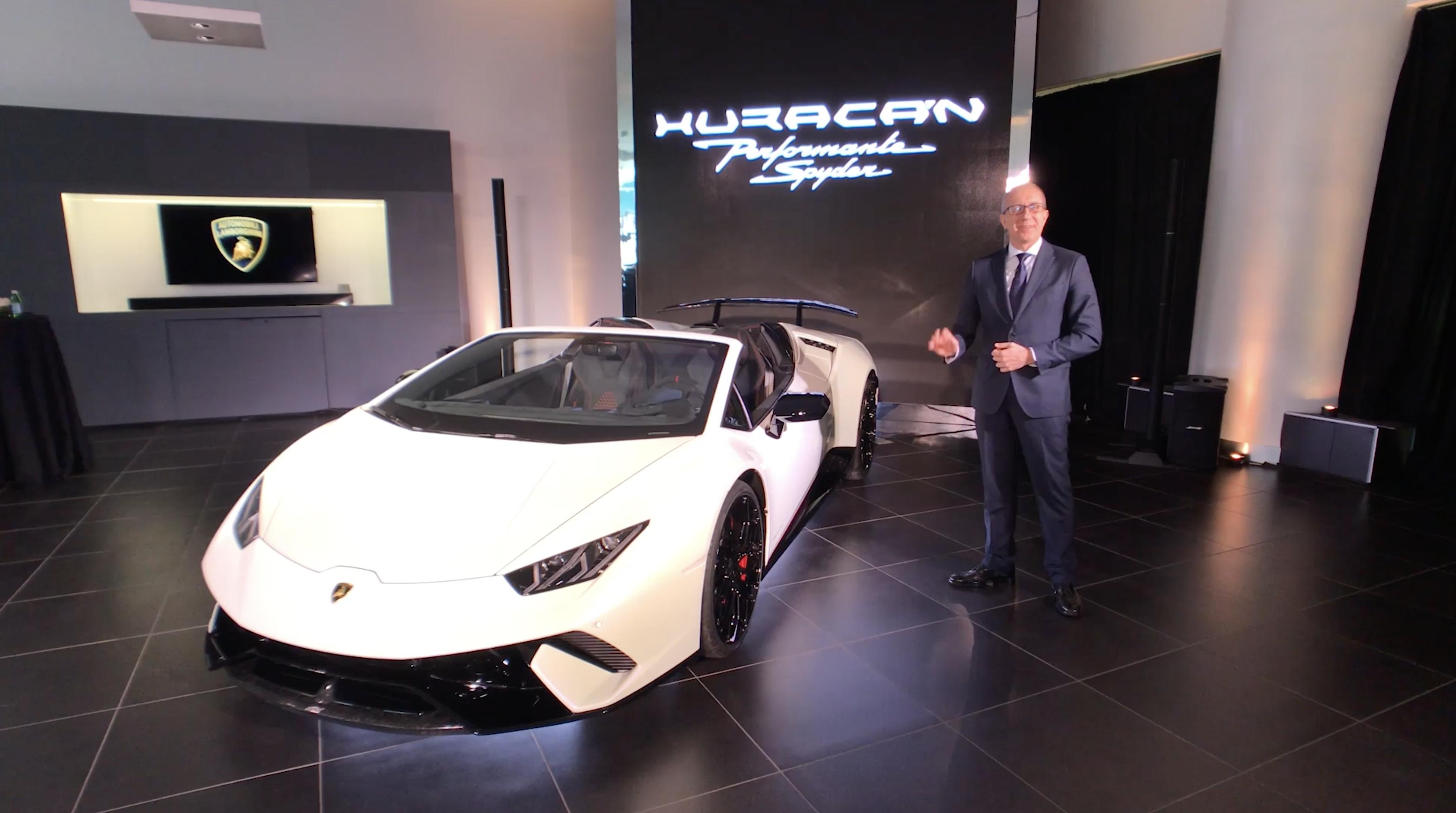 2020 Lamborghini Huracan Spyder Refresh Spied Car News Reviews