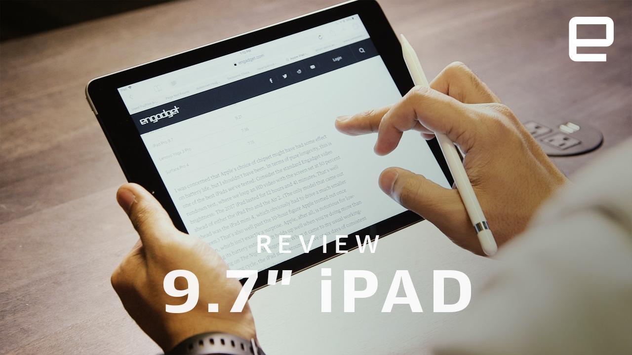 Apple iPad review (2018): A little better, a little less