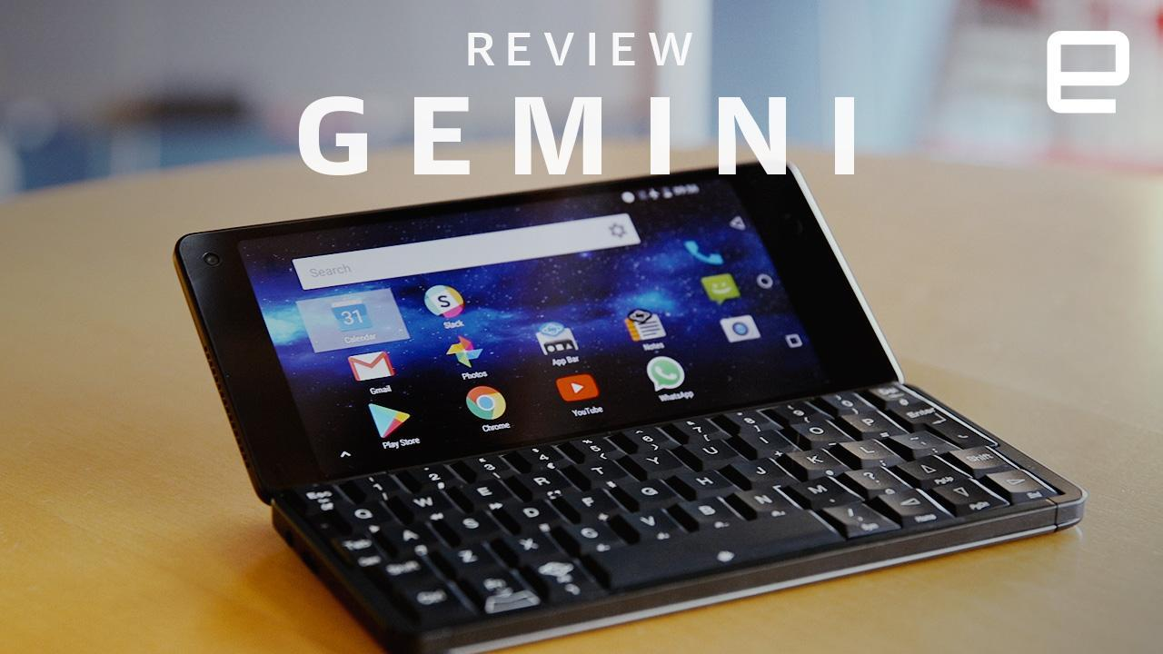 Gemini PDA review: We've come a long way since keyboards ...