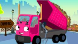 Wheels On The Garbage Truck | Nursery Rhymes For Bab...