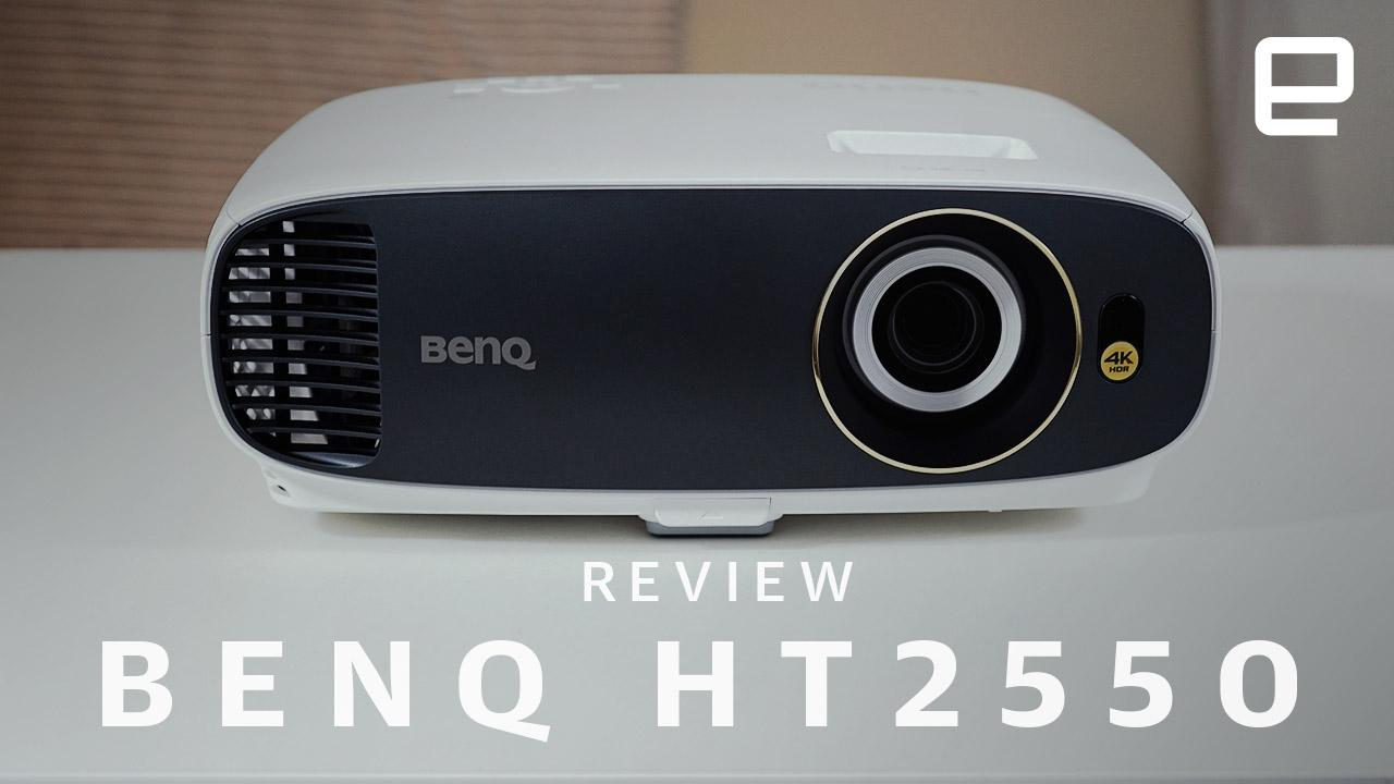 BenQ's HT2550 is a well-priced 4K projector with some minor