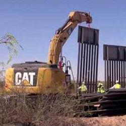 US Border Wall in New Mexico