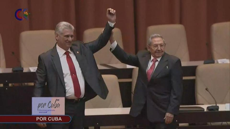 Cuba parliament elects Diaz-Canel to replace Castro as president