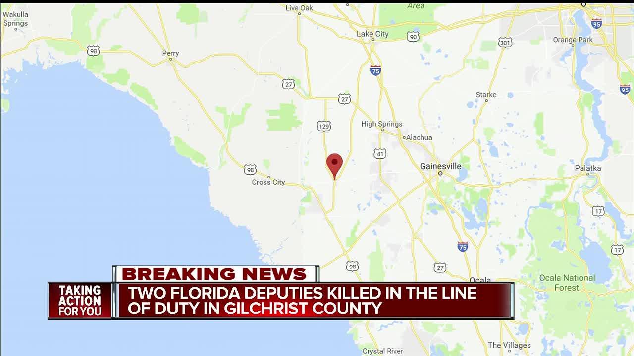 Two deputies shot, killed in suspected ambush in Florida