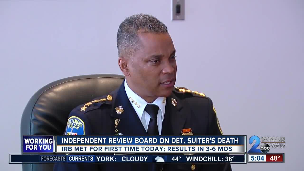 Suiter panel begins independent review of homicide detective's death