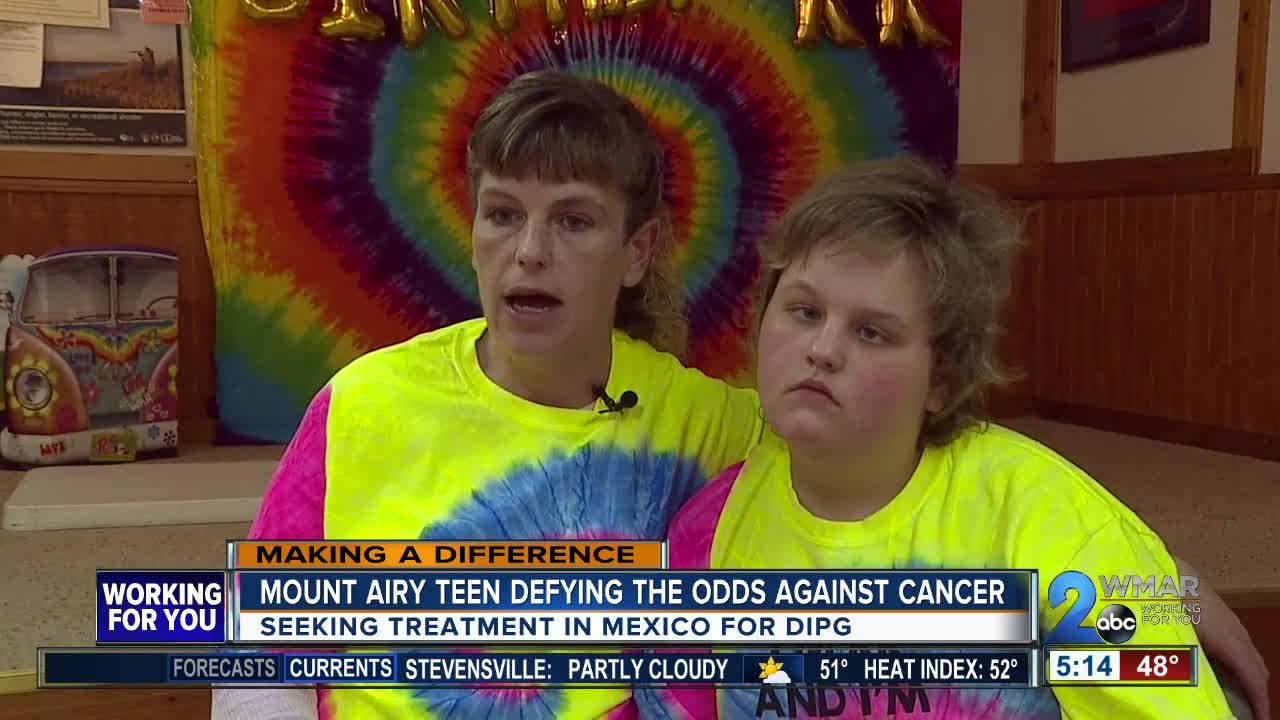 Mt. Airy teen defying the odds