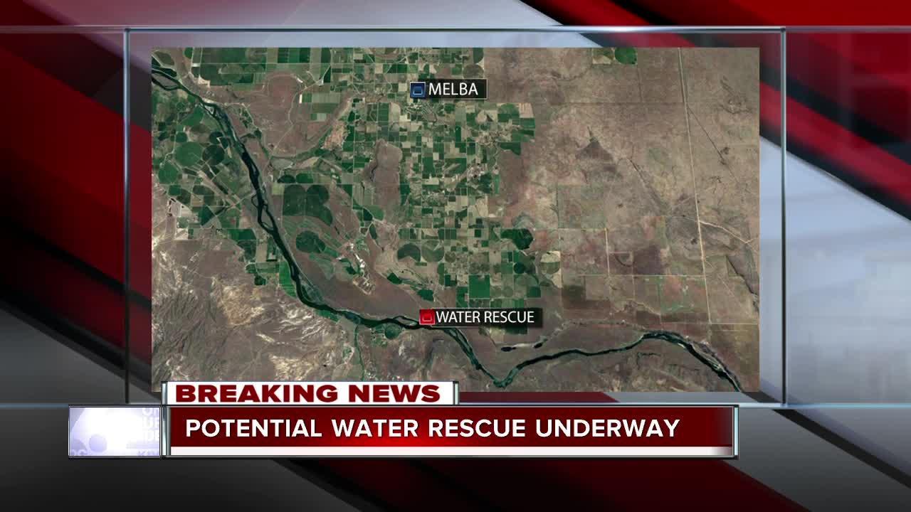 BREAKING: Missing man in Snake River