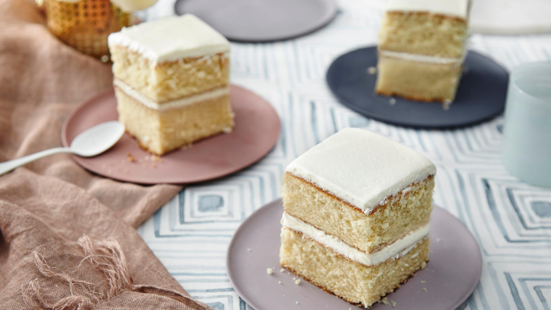 How to Make 1-2-3-4 Cake