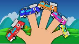 Fire Truck Finger Family