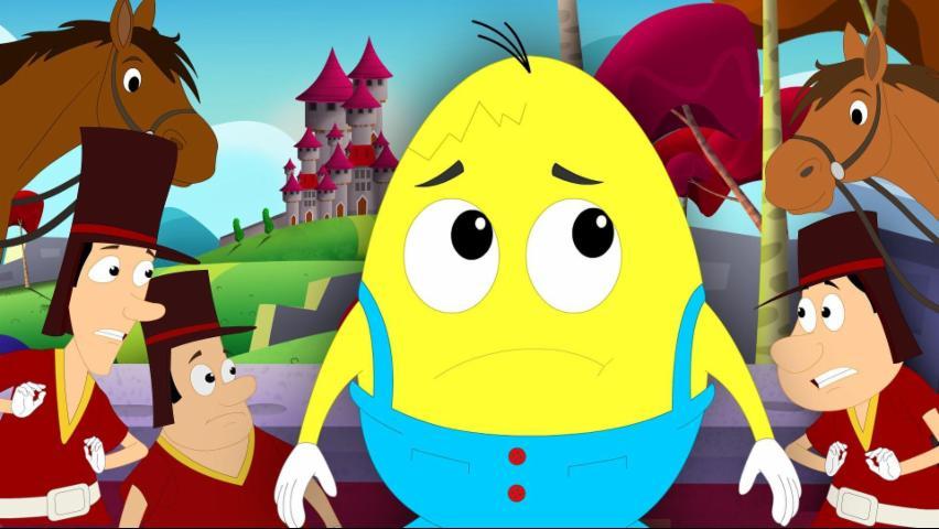 Humpty Dumpty Sat On A Wall | Nursery Rhymes For Chi...