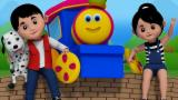Bob The Train | Bob Finger Family | Nursery Rhymes | Kids Song