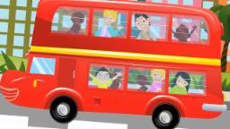 The Wheels On The Bus | Nursery Rhymes Songs For Chi...
