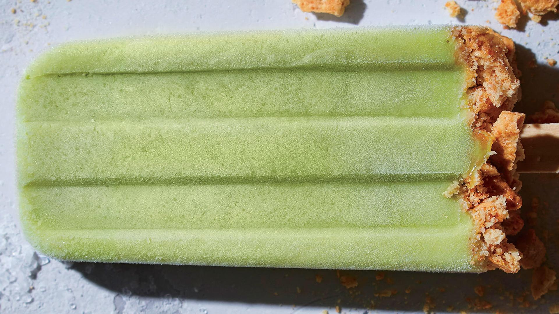 How to Make Creamy Key Lime Ice Pops