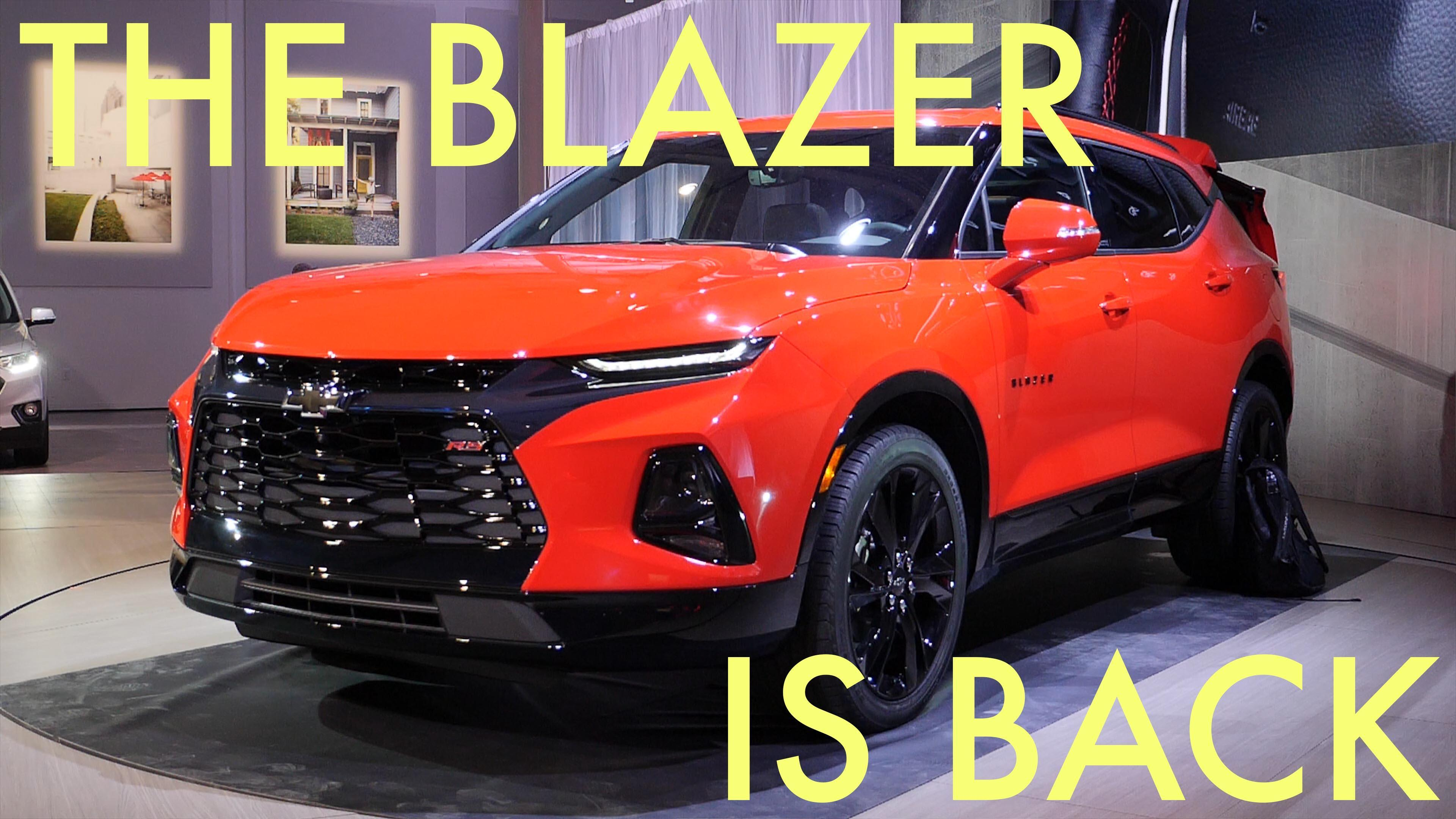 2019 Chevy Blazer lets us recall its poor discontinued sibling, the Oldsmobile Bravada | Autoblog