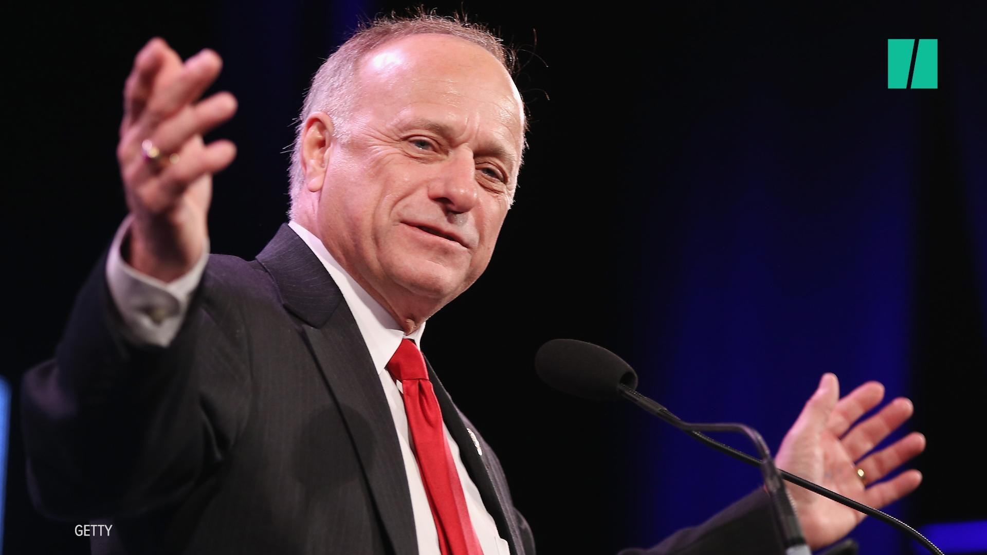 White Nationalist Rep. Steve King Posts Violent Meme About New Civil War