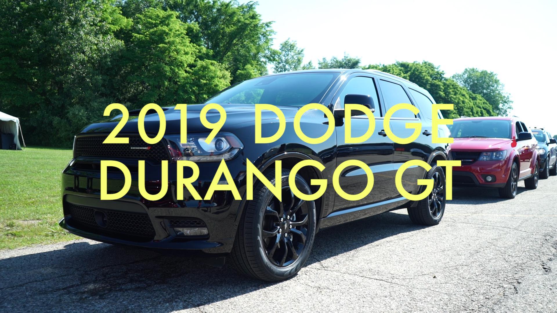 Video 2019 Dodge Durango Gt Blacktop At Fca Chelsea Proving Grounds Autoblog