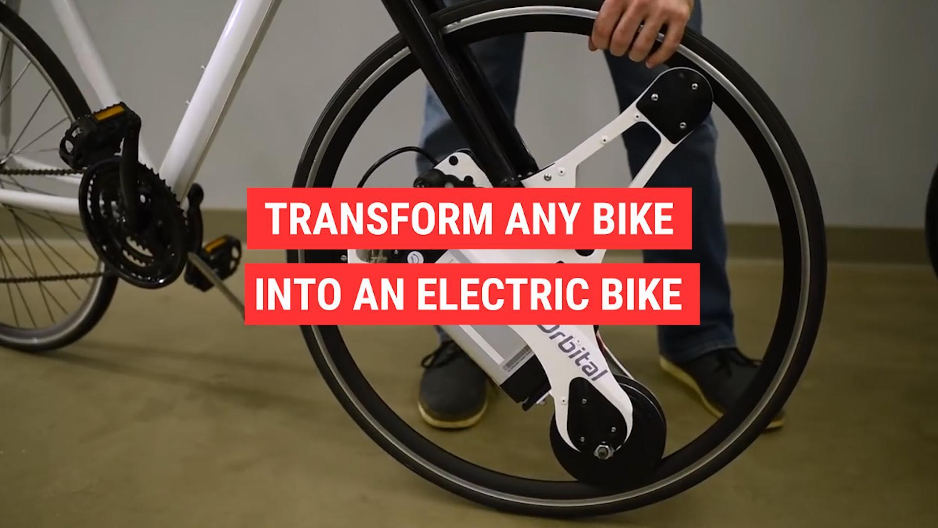 Transform any bike into an electric bike