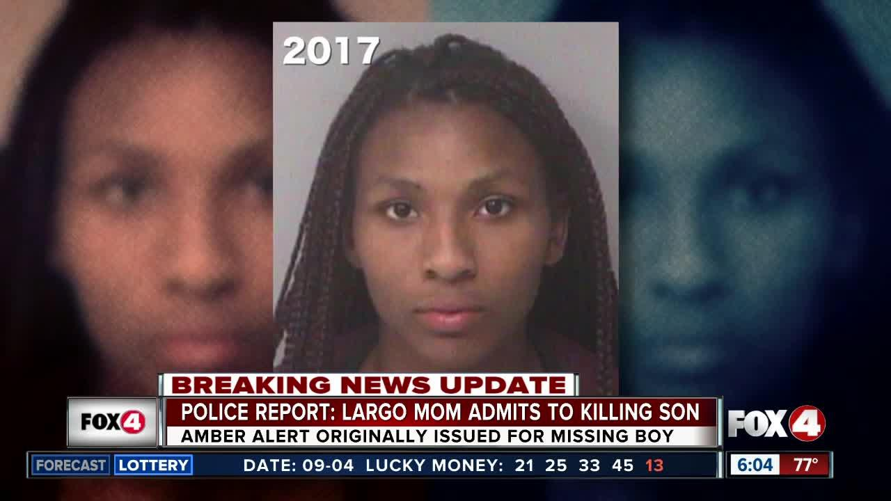 Florida mom charged with murder in case of missing son
