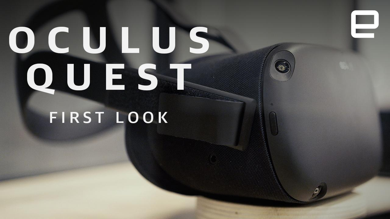 bbd8f853ac1f Oculus Quest has Rift-like VR without the wires