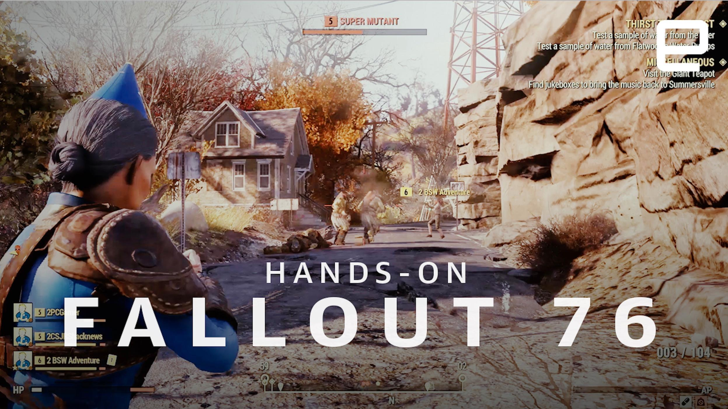 Fallout 76' preview: This isn't 'Fallout 5'