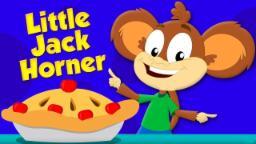 Little Jack Horner | Monkey Rhymes | Preschool Carto...