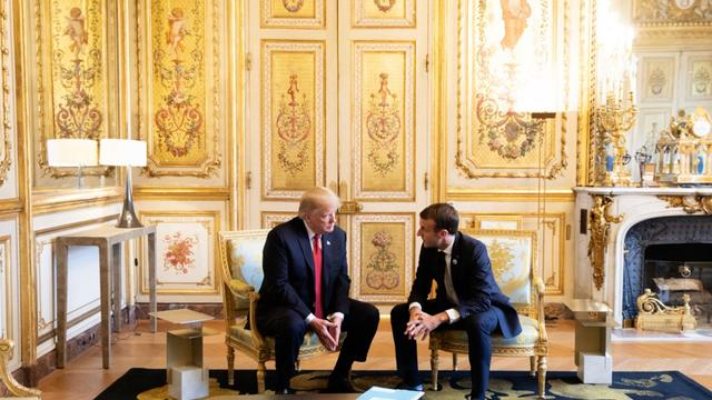 National News - French President Trades Barbs With President Trump On Nationalism