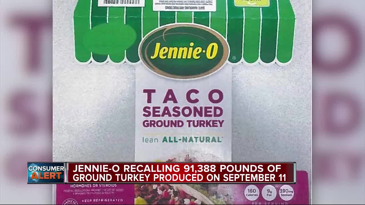 Noticias Nacionales - 91,000 Pounds of Ground Turkey Being Recalled Amid Salmonella Outbreak