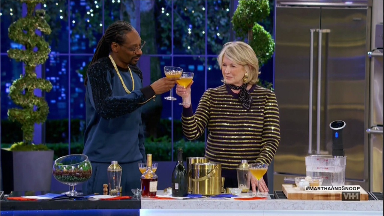 Martha Stewart reveals what Snoop Dogg got her for the holidays