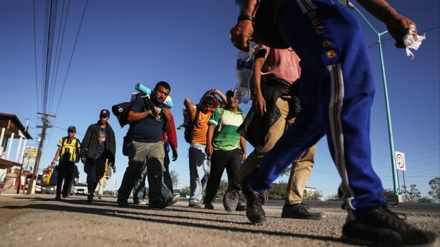 Politics - President Donald Trump Calls On Supreme Court To Allow Asylum Ban