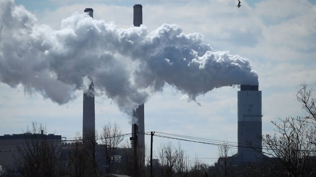 Politics - Trump Administration Easing Restrictions On Coal Plants