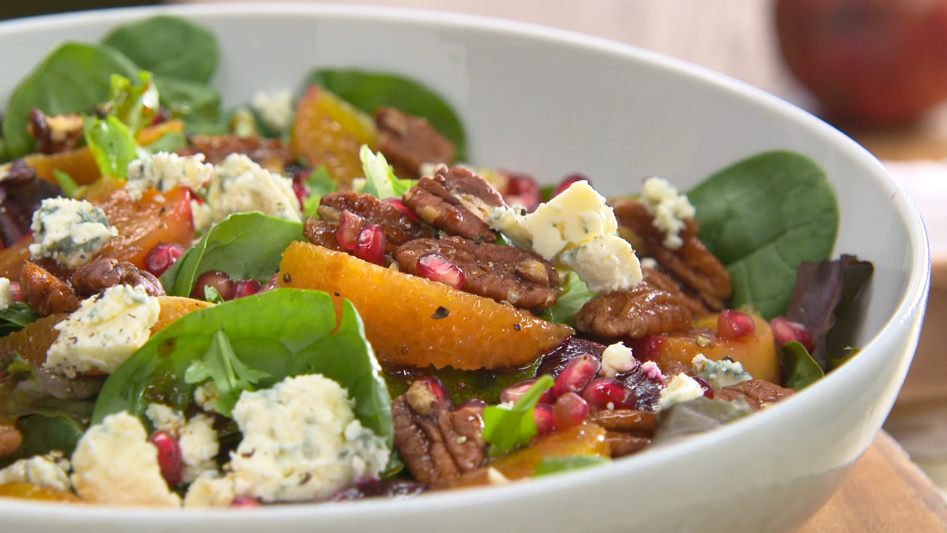 Keep up your healthy eating habits with this winter beet and pomegranate salad recipe