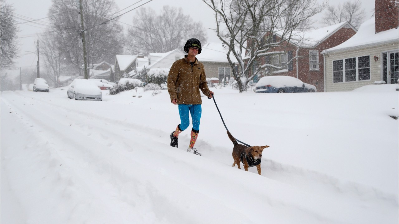National News - Winter Storm Leaves Four Dead, Thousands Without Power