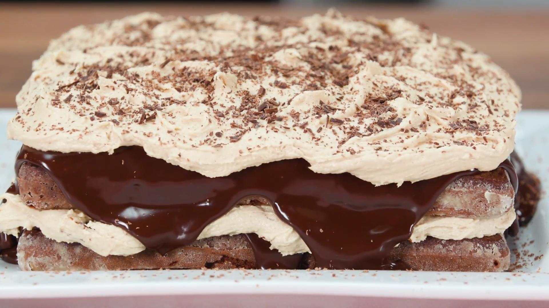 How to Make a Chocolate Fudge Layer Cake with Caramel Buttercream